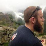 Charles Rodda takes in the view of Machu Picchu