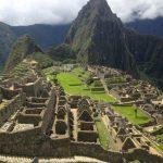 View of Machu Picchu.