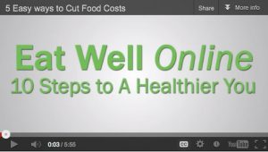 Eat Well Online: 10 Steps to a healthier You!