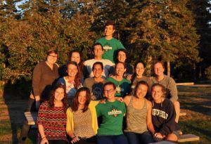 FoodCorps Maine volunteers FY2017