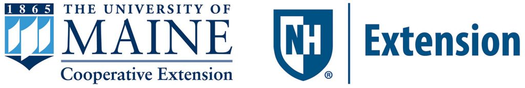 The University of Maine Cooperative Etension and UNH Etension logos