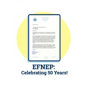 graphic icon of letter of congratulations from the governor