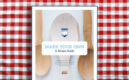 graphic of the EFNEP Make-Your-Own Recipe Booklet