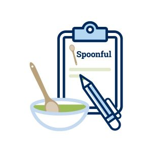 icon graphic for meet the Spoonful bloggers button link