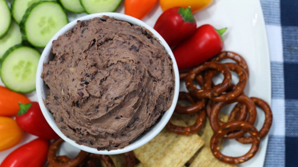 featured image for Mainely Dish Recipe Video: Black Bean Hummus
