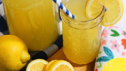 Picture of Honey-Sweetened Lemonade