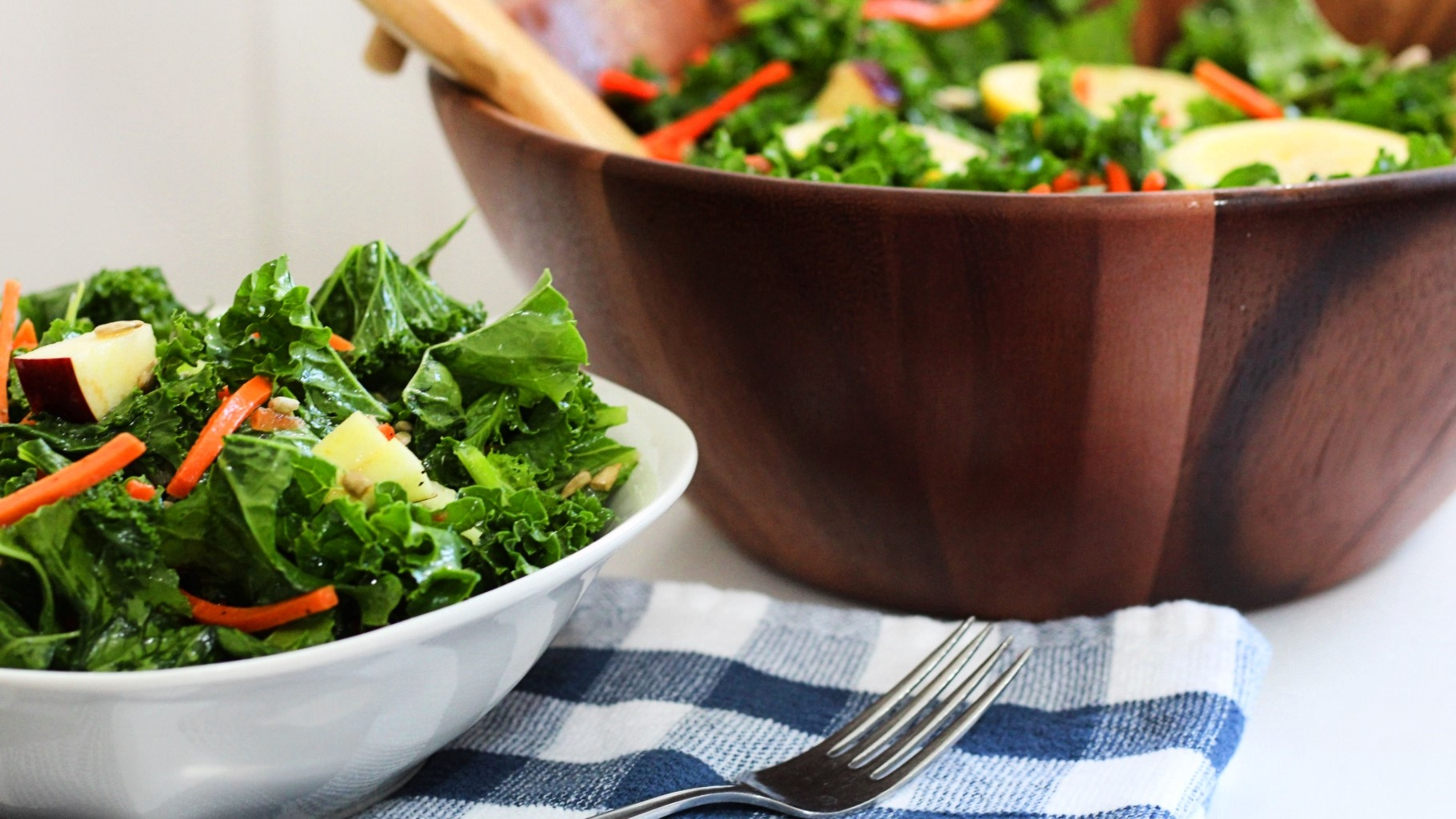 featured image for Mainely Dish Recipe Video: Massaged Kale Salad