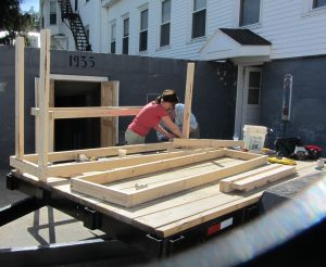 York County Master Gardeners building a root cellar