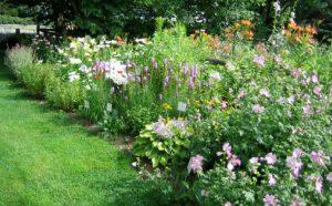 Heirloom garden at Skowhegan History House