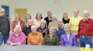 Members of the Brae Maple Farm Master Gardener Project at a recent planning meeting.
