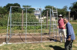 frame for greenhouse