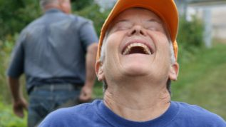 laughing Master Gardener Volunteer