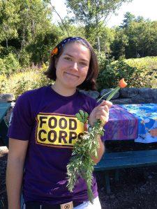 FoodCorps volunteer Alissa