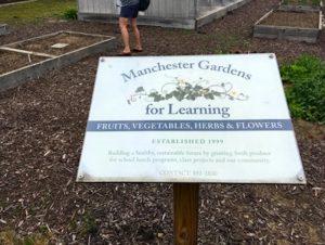 Manchester Gardens Plaque