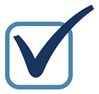 graphic of a checkmark in a box for check list