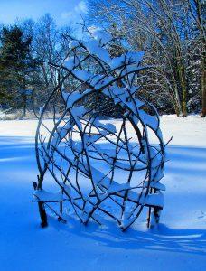 Twiggy Trellis in snow