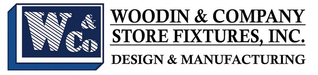 logo for Woodin & Company Store Fixtures, Inc. Design & Manufacturing