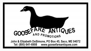 Goosefare Antiques and Promotions logo