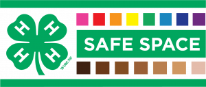 4-H Safe Space Logo