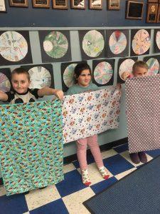 Jolly Juniors Displaying pillowcases