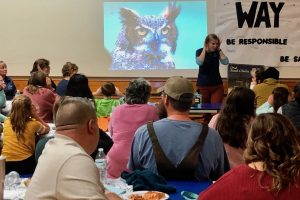 Chewonki educator talks about Owls