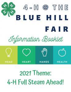 Blue Hill Fair Booklet