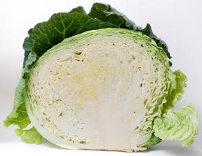 half a head of cabbage