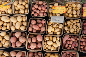 potatoes; photo by Edwin Remsberg, USDA