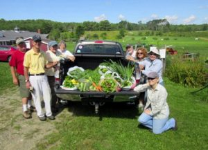 Master Gardener Volunteers at Morris Farm