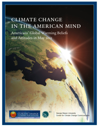 'Climate Change in the American Mind' cover, image of earth