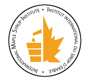 International Maple Syrup Institute logo in circle for home page