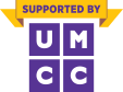 Supported by UMCC logo