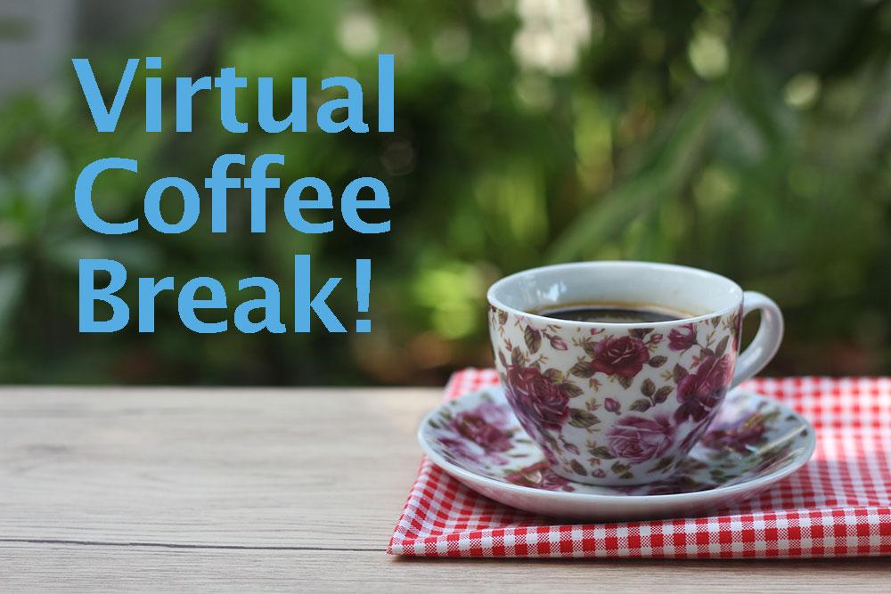 Virtual Coffee Break: cup of coffee