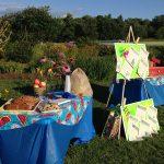 Educational display by a Maine Master Gardener Volunteer