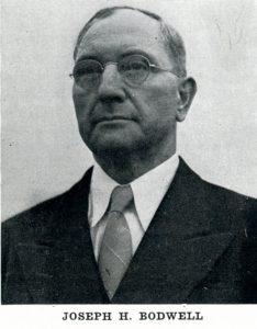 photo of Joseph Bodwell