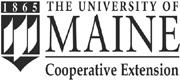 distorted UMaine Extension logo
