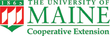 red and green UMaine Extension logo