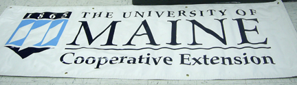 banner with Extension logo
