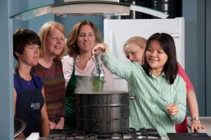 Canning and food preservation class; photo by Edwin Remsberg