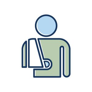 icon for personnel hr home page, accidents icon