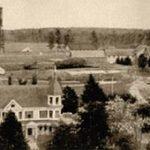 old photo of UMaine campus