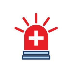 icon for emergency preparedness page button