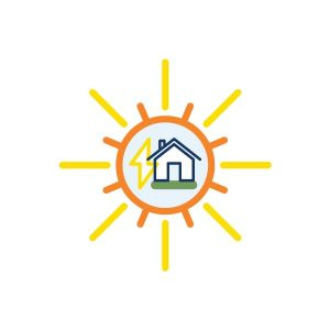 icon for home energy resources page button