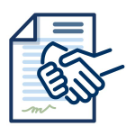 icon for union contract page button