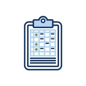 icon for agenda for all organizational conference