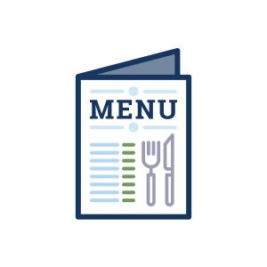 icon for conference menus on home page
