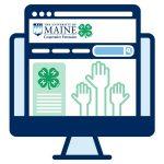 4-H online icon