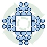 enhancing collaboration committee icon