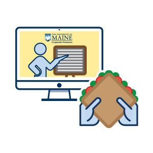 icon graphic for Extension Lunch and Learn Series