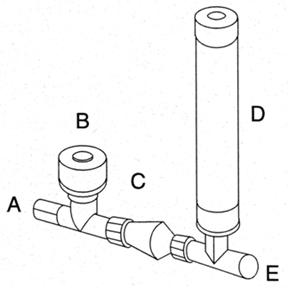 diagram of a ram pump